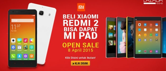 8 April, Mi Fan Festival dan Sale Xiaomi Terbesar Eksklusif di Lazada