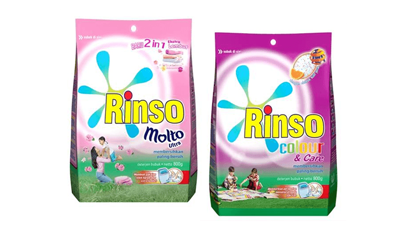 Rinso Molto Ultra dan Rinso Color & Care