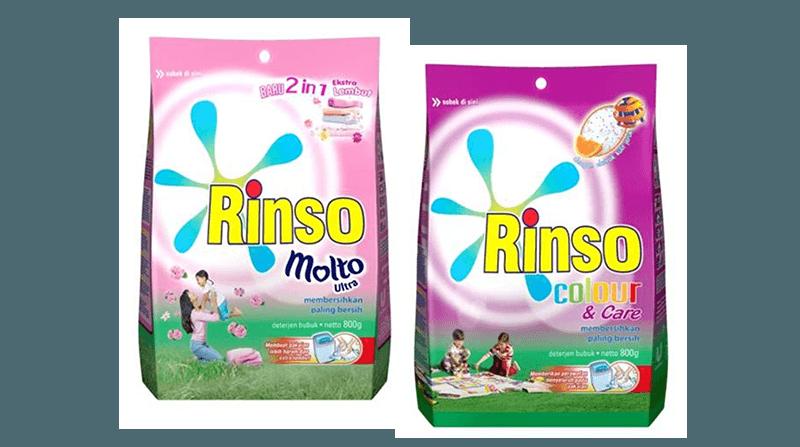 Rinso Molto Ultra dan Rinso Color & Care