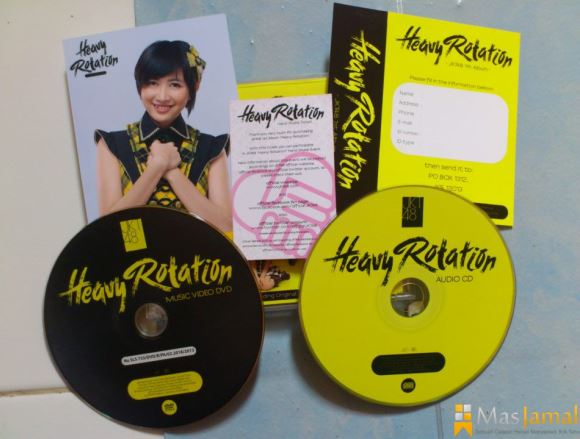 Album JKT48 Heavy Rotation Versi A