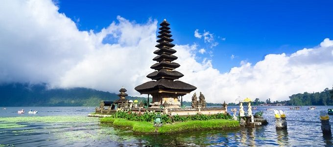 Salah Satu Kuil di Bali