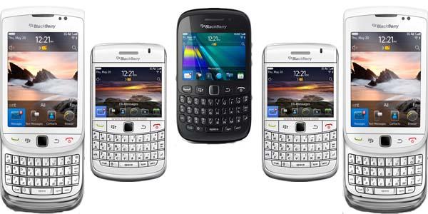 Daftar Harga Ponsel BlackBerry Baru dan Bekas Juni 2012