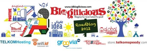 Perhelatan Akbar Blogilicious Roadblog 2012 Segera Digelar