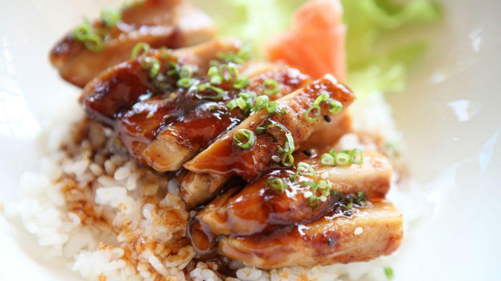 Chicken Teriyaki Dada Ayam Lezat
