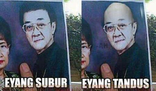 Eyang Subur vs Eyang Tandus