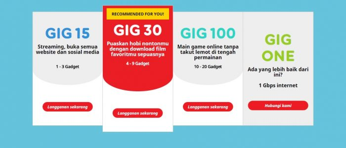 GIG Internet by Indosat Ooredeo