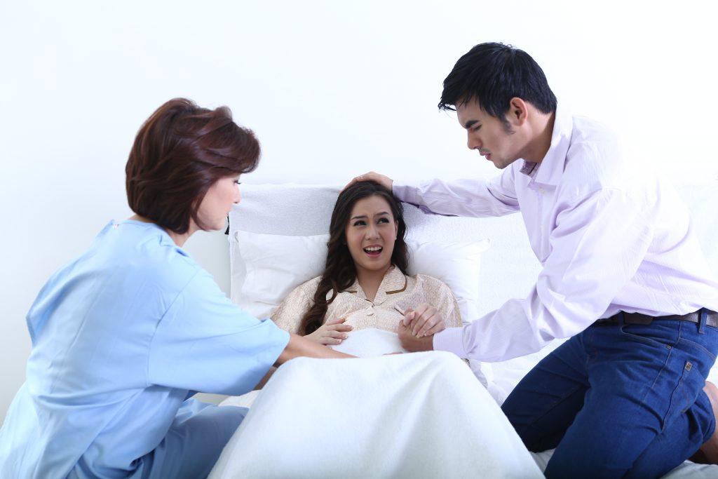 Ibu Kontraksi Kehamilan