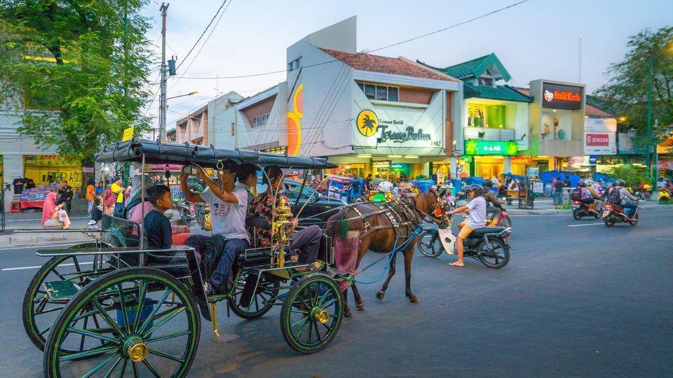 Jalan Malioboro Yogyakarta