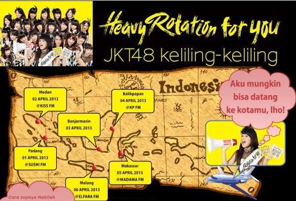 JKT48 Kunjungi Banjarmasin 3 April 2013