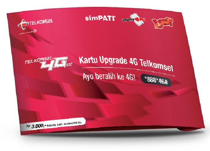 Kartu Upgrade 4G Telkomsel