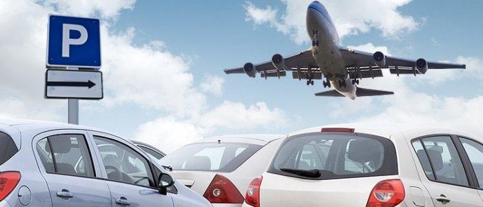 Ilustrasi Mobil Parkir di Bandara
