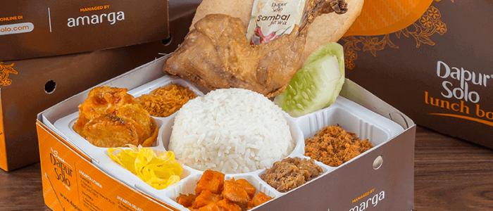 Nasi Langi Kotak Spesial Dapur Solo