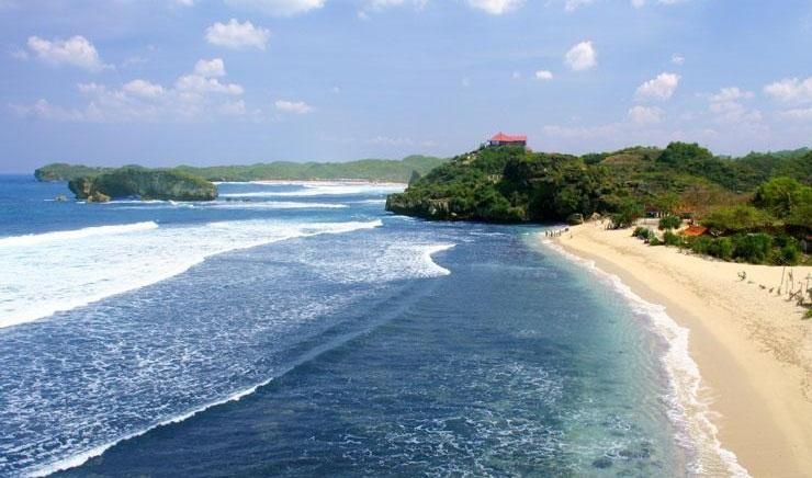 Pantai Parangritis Yogyakarta