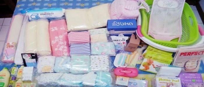 Daftar Perlengkapan Penting Untuk Bayi Baru Lahir