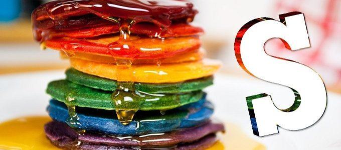 Resep Pancake Rainbow Lezat dan Menggoda