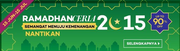 Acara Ramadhan Ceria Dengan Diskop Up To 90% Dari Lazada
