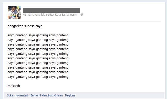 Inilah Orang Terganteng di Facebook Mas Jamal