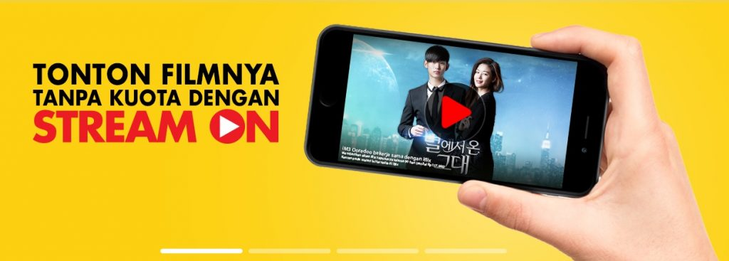 Stream On Android Indosat Ooredoo